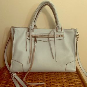 Rebecca Minkoff Regan Satchel Blue Purse